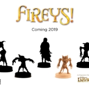 Fireys! expansion for Jim Henson's Labyrinth the Board Game by River Horse