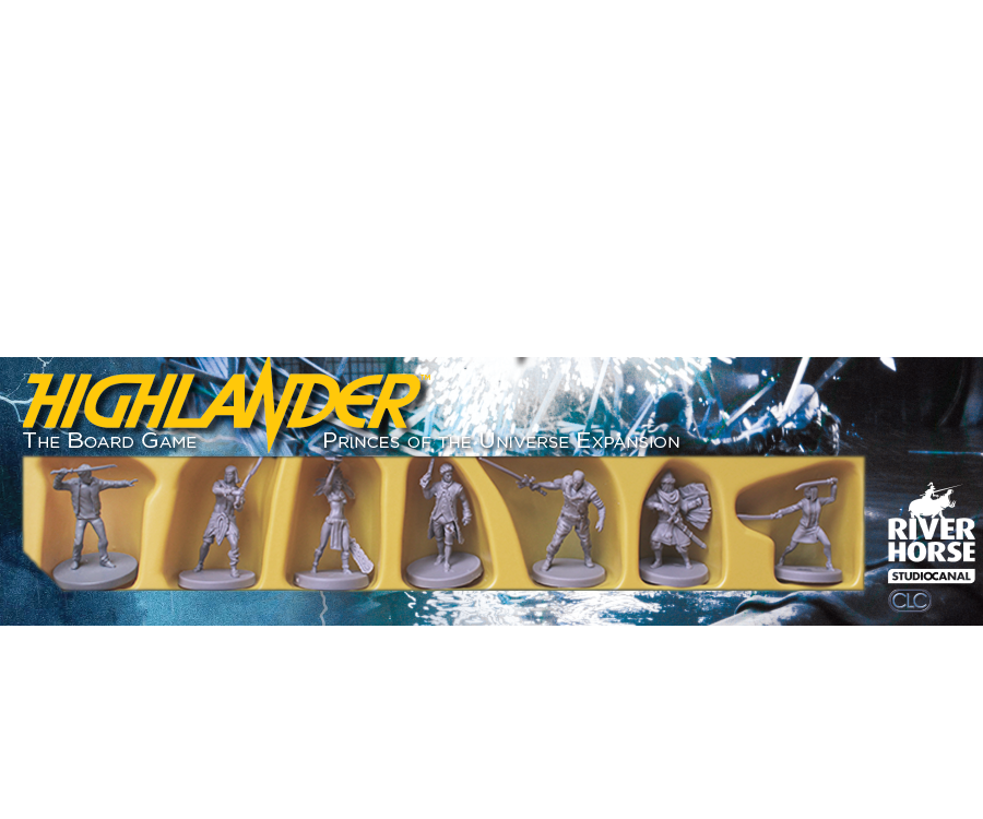 Princes of the Universe expansion for Highlander the Board Game by River Horse