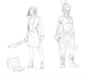 Immortal Sketches