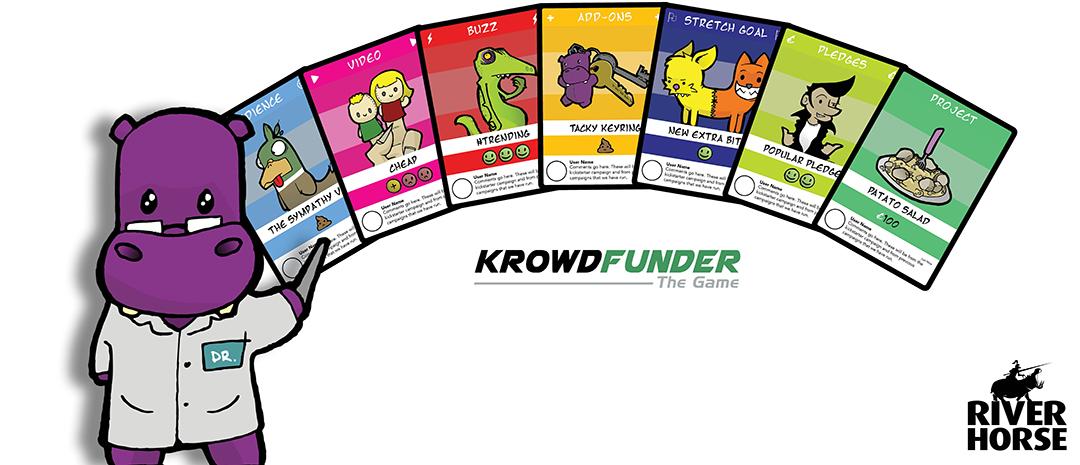 Krowdfunder cards