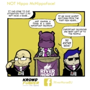 Krowdfunder: The Game Comic #3 - NOT Hippo McHippoFace!