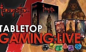 Monkeys with Fire Livestream of Frazetta the Card and Dice Battle Game by River Horse
