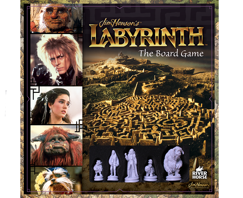 The Board Game Deluxe Game Pieces River Horse Jim Henson`s Labyrinth