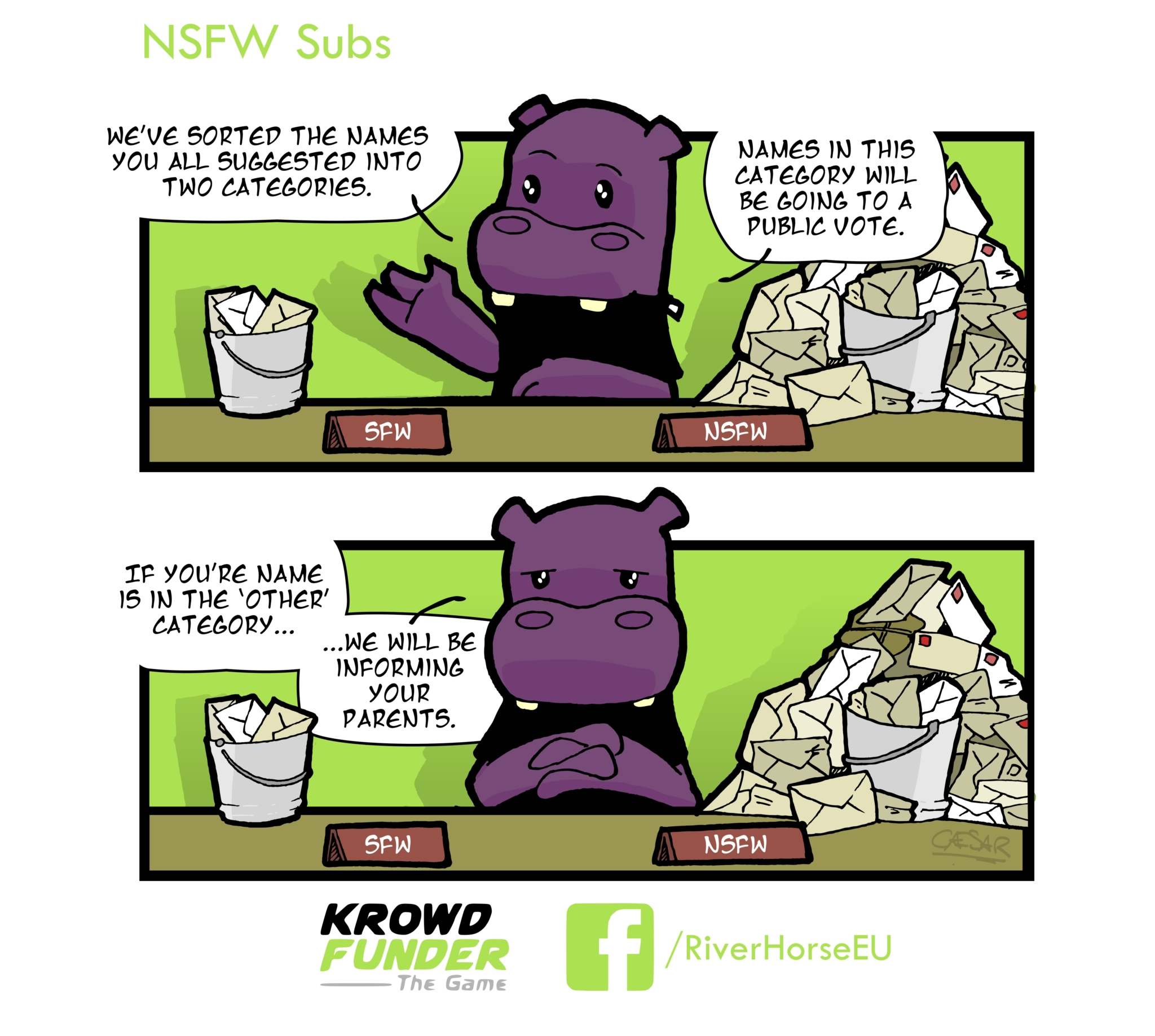 KROWDFUNDER: THE GAME COMIC #4 – NSFW