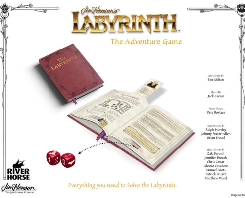 Jim Hensons' Labyrinth The Adventure Game by River Horse