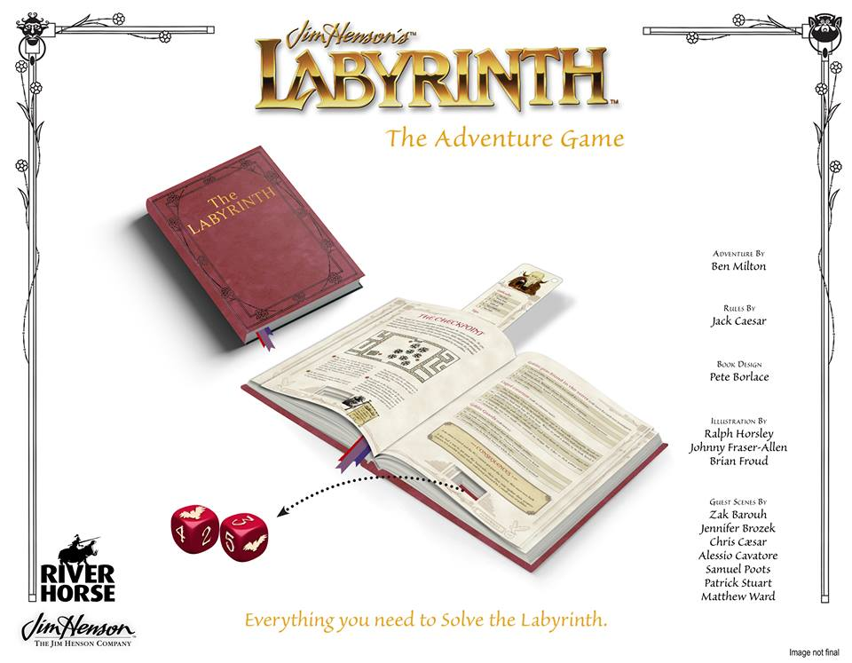 Jim Hensons' Labyrinth The Adventure Game