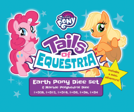 Earth pony dice set for Tails of Equestria by River Horse