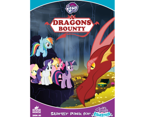 Tails of Equestria Starter Set: A Dragon's Bounty by River Horse