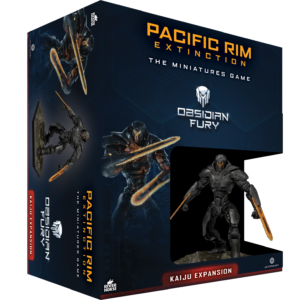 Obsidian Fury Kaiju Expansion for Pacific Rim Extinction by River Horse