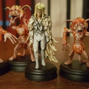 Painted Fireys! from Jim hensons Labyrinth the Board Game by River Horse
