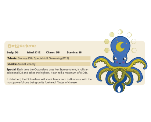 Tails of Equestria - Creature Feature: Octoselene by River Horse